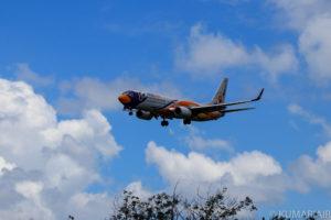 プーケット飛行機撮影